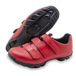 Sapatilha Ciclismo Mtb Zarato Vermelha 1061