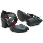 Sapato Boneca Verde - Milão - 400-03