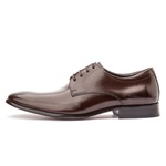 Sapato Social Masculino em Couro Café