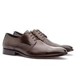 Sapato Social Masculino Café Premium