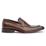 Sapato Loafer Masculino em Couro Premium Mouro
