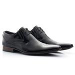 Sapato Social Clássico em Verniz cor Preto