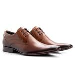 Sapato Social Cromo Wisky
