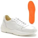 Tênis Casual Masculino Napa Ref-450012 Branco