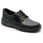Sapato Masculino Em Couro Na Cor Preto Ref. 559-2020