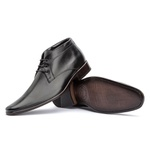 Bota Social Masculina Ankle Boot Cor Preto