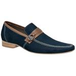 Sapato Casual Cor Navy Ref. 18637