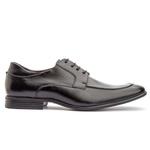Sapato Brogue Em Couro Ref-2974 Preto