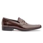 Sapato Social Masculino Fly Em Couro Ref-1044 Café