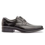 Sapato Social Masculino Kire Gel Em Couro Ref-1171 Preto