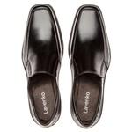 Sapato Social Masculino Kire Gel Em Couro Ref-1179 Preto