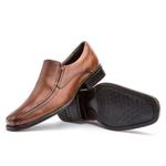 Sapato Social Masculino Kire Gel Em Couro Ref-3900 Whisky