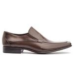 Sapato Social Masculino Leblon Em Couro Ref-667 Café