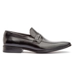 Sapato Social Masculino Stuart Em Couro Ref-2106 Preto
