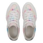 Tênis Sneaker Chunky Tie Dye J800 Branco