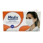 Máscara Tripla Camada Medix C/50un