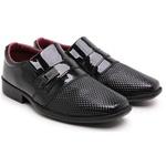 Sapato Social Infantil Masculino Verniz 448 Preto