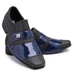 Kit 3 Pares Sapatos Sociais Masculino Em Verniz Schiareli K20