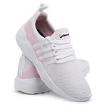 Tênis Feminino Para Academia e caminhada 490 Branco/Rose