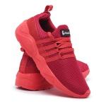 Tênis Feminino Para Academia e caminhada 490 Vermelho/Vermelho