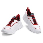 Tênis Masculino Academia e Caminhada 530 Vermelho/Branco