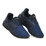 Tênis Masculino Academia e Corrida Barato 540 Azul/Preto