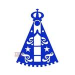 Adesivo Nossa Senhora Aparecida Azul