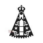 Adesivo Nossa Senhora Aparecida Preto