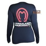 Camisa Termica Proteção UV Mangalarga Azul Feminino