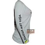 Camisa Termica Proteção UV Mangalarga Branco Feminino