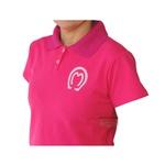 Camisa Mangalarga Feminino Rosa