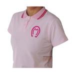 Camisa Mangalarga Feminina Rosa Claro