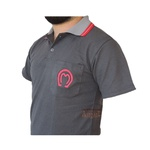 Camisa Mangalarga Masculina Cinza