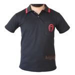 Camisa Mangalarga Masculina Preta