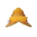 Sela Freio De Ouro Amarelo Casco