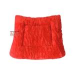 Manta Quarto De Milha Luxo Vermelha Infantil