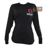 Camisa Termica Proteção UV Mangalarga Preto Feminino