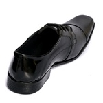 Sapato Social Masculino em Verniz Amarração Selten