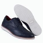 Sapato Oxford Masculino Azul Marinho