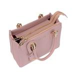 Kit de Bolsa Feminina Rosa Transversal com Bolsa Tiracolo e Carteira - Selten
