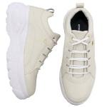 Tênis Feminino Dad Sneaker Buffalo Creme - Selten