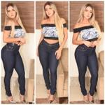 Calça Jeans Cintura Alta Empina Bumbum