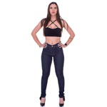 Kit Calça Jeans Feminina Cintura Alta 2 peças
