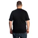 Camiseta Masculina Plus Size Preta -Selten