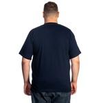 Camiseta Masculina Plus Size Marinho -Selten