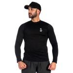 Kit com 2 Camisetas Masculinas com Proteção UV Térmica Marinho e Preto -Selten