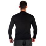 Camiseta Masculina com Proteção UV Térmica Preta -Selten