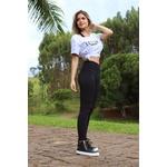 Bota Treino Academia Sneaker Fitness Preta em Couro Legítimo - Selten