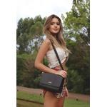 Kit 2 Bolsas Feminina + Carteira Preta