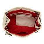 Kit de Bolsa Feminina Com 2 Bolsas e Necessaire Creme - Selten